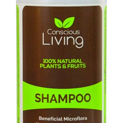 Conscious Living Natural Probiotic Shampoo